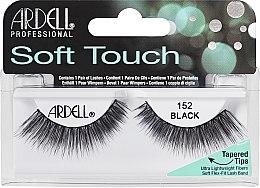 Voňavky, Parfémy, kozmetika Falošné riasy - Ardell Soft Touch Eye Lashes Black 152