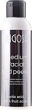 Voňavky, Parfémy, kozmetika Stredný peeling z bahna na tvár s mliečnou a ovocnou kyselinou - BingoSpa Medium Facial Mud Peeling