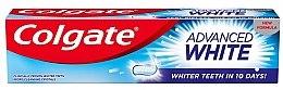 """Voňavky, Parfémy, kozmetika Zubná pasta """"Biele zuby za 10 dní!"""" - Colgate Advanced White"""