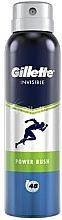 Voňavky, Parfémy, kozmetika Aerosólový dezodoračný antiperspirant - Gillette Power Rush Invisible Antiperpirant Spray