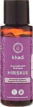 "Voňavky, Parfémy, kozmetika Ajurvédsky šampón ""Hibiscus"" - Khadi Hibiscus Shampoo"