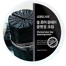Voňavky, Parfémy, kozmetika Čistiaci krém na tvár - Lebelage Charcoal Pore Clay Cleansing Cream