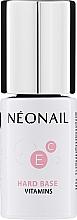 Voňavky, Parfémy, kozmetika Báza pod gélový lak - NeoNail Professional Hard Base Vitamins