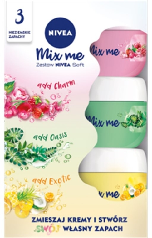 Sada - Nivea Soft (cr/50ml + cr/50ml + cr/50ml)