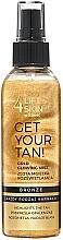 Voňavky, Parfémy, kozmetika Hmla na telo - Lift4Skin Get Your Tan! Gold Glowing Mist