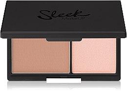Voňavky, Parfémy, kozmetika Zmatňujúci púder a highlighter - Sleek MakeUP Face Contour Kit