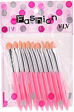 Voňavky, Parfémy, kozmetika Sada aplikátorov na očné tiene, růžový - Fashion Cosmetic