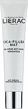 Voňavky, Parfémy, kozmetika Anti-age krém-gél na tvár - Lierac Cica-Filler Mat Anti-Wrinkle Repairing Cream-Gel