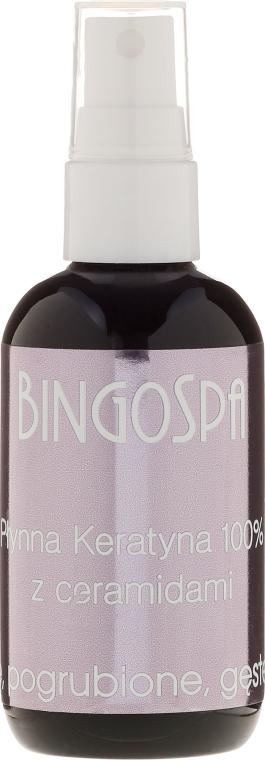 Tekutý keratín s ceramidmi - BingoSpa 100% Pure Liquid Keratin with Ceramides