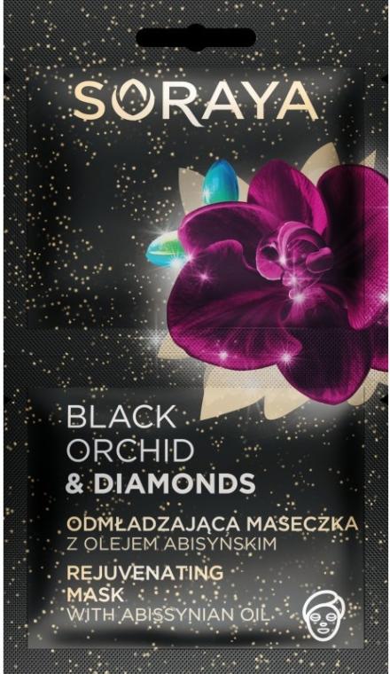 Maska na tvár - Soraya Black Orchid & Diamonds Rejuvenating Mask