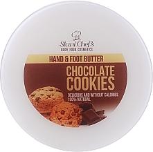"""Voňavky, Parfémy, kozmetika Krém na ruky a nohy """"Čokoládové sušienky"""" - Hristina Stani Chef's Chocolate Cookies Hand Foot Cream"""