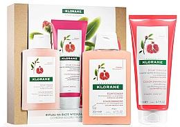 Voňavky, Parfémy, kozmetika Sada - Klorane Pomegranate (shm/200ml + cond/200ml)
