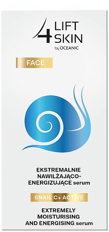 Intenzívne hydratačné a vyhladzujúce sérum - Lift4Skin Snail C+ Serum