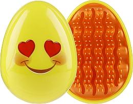 Voňavky, Parfémy, kozmetika Kefa na vlasy 3002W, emoji, usmievajúca sa tvár - IDC Design Smile Brush