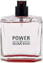 Voňavky, Parfémy, kozmetika Antonio Banderas Power Of Seduction - Toaletná voda (tester bez uzáveru)