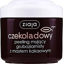"""Voňavky, Parfémy, kozmetika Telový peeling hrubé """"Kakaové maslo"""" - Ziaja Body Peeling"""