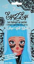 Voňavky, Parfémy, kozmetika Čipkované hydrogélové náplasti pod oči pre jemnú povahu s kávovým extraktom - 7 Days Eye2Eye Lace Hydrogel Eye Patches