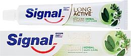 Voňavky, Parfémy, kozmetika Zubná pasta na ochranu ďasien - Signal Long Active Natural Elements