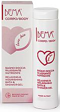 """Voňavky, Parfémy, kozmetika Sprchový gél """"Relaxácia a výživa"""" - Bema Cosmetici Bema Love Bio Relaxing & Nourishing Shower Gel"""