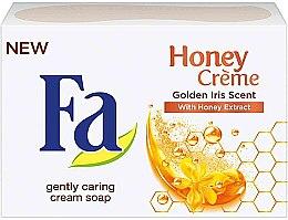"""Voňavky, Parfémy, kozmetika Mydlo """"Vôňa Zlatého Irisa"""" - Fa Honey Creme Golden Iris Cream Soap"""
