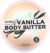 """Voňavky, Parfémy, kozmetika Maslo na telo """"Vanilkové"""" - Derma V10"""
