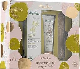 Voňavky, Parfémy, kozmetika Sada - Melvita Beauty For Your Hands Set (h/cr/30ml + h/f/oil/50ml + nail/file/1pcs)