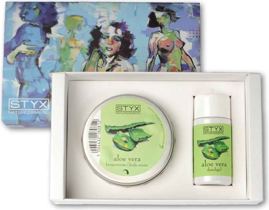 Sada - Styx Naturcosmetic Aloe Vera (sh/gel/30ml + cr/50ml) — Obrázky N1