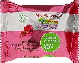 Voňavky, Parfémy, kozmetika Bio-organické mydlo s vôňou granátového jablka - Ma Provence Organic Soap