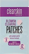 Voňavky, Parfémy, kozmetika Náplasti na čistenie pokožky od škvŕn - Avon Clearskin Blemish Clearing Patches