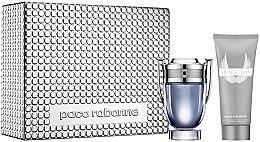 Voňavky, Parfémy, kozmetika Paco Rabanne Invictus - Sada (edt/100ml + sh/gel/100ml)