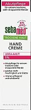 Voňavky, Parfémy, kozmetika Krém na ruky - Sebamed Trockene Haut Hand Creme Urea Akut 5%