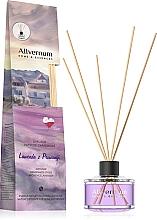 """Voňavky, Parfémy, kozmetika Aromatický difúzor """"Levanduľa z Provence"""" s tyčinkami - Allverne Home&Essences Diffuser"""