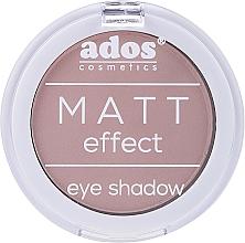 Voňavky, Parfémy, kozmetika Matný očný tieň - Ados Matt Effect Eye Shadow