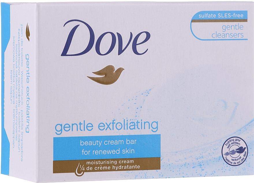 """Krémové mydlo """"Jemná exfoliácia"""" - Dove"""