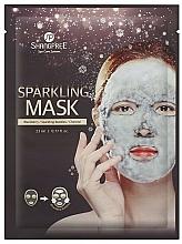 Voňavky, Parfémy, kozmetika Čistiaca látková maska s aktívnym uhlím - Shangpree Sparkling Mask
