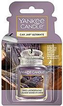 Voňavky, Parfémy, kozmetika Arómatizator do auta - Yankee Candle Car Jar Ultimate Dried Lavender & Oak