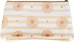 """Voňavky, Parfémy, kozmetika Kozmetická taška """"Marguerite"""", 98109, béžová - Top Choice"""