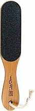 Voňavky, Parfémy, kozmetika Obojstranný pilník na nohy, 80/100, 75186, hnedý - Top Choice