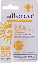 Voňavky, Parfémy, kozmetika Ochranný rúž s UVA / UVB filtrami - Allerco Emolienty Molecule Regen7 Lip Balm SPF30