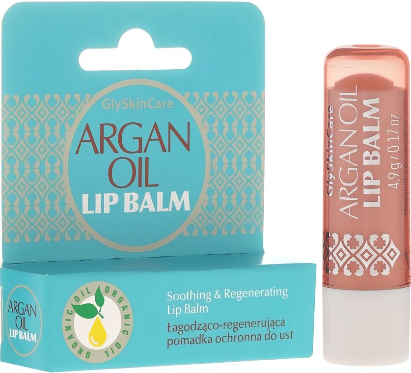 Ochranný rúž na pery s arganovým olejom - GlySkinCare Argan Oil Lip Balm