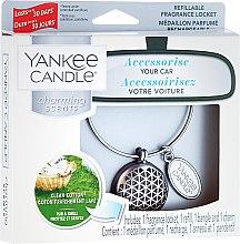 Arómatizator automobilový - Yankee Candle Clean Cotton — Obrázky N1