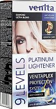 Voňavky, Parfémy, kozmetika Zosvetľovač o 9 tónov - Venita Plex Platinum Lightener