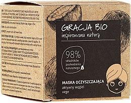 Voňavky, Parfémy, kozmetika Maska na tvár s aktívnym uhlím - Gracja Bio