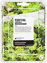 "Voňavky, Parfémy, kozmetika Textilná maska na tvár ""Kapusta Kale"" - Farmskin Superfood For Skin Purifying Sheet Mask"