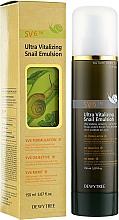 Voňavky, Parfémy, kozmetika Emulzia so slimačím extraktom - Dewytree Ultra Vitalizing Snail Emulsion