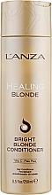 Voňavky, Parfémy, kozmetika Liečivý kondicionér pre prirodzené a odfarbené blond vlasy - L'anza Healing Blonde Bright Blonde Conditioner
