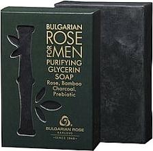 Voňavky, Parfémy, kozmetika Glycerínové mydlo - Bulgarian Rose For Men Purifying Glycerin Soap
