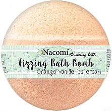 Voňavky, Parfémy, kozmetika Šumivá guľa do kúpeľa - Nacomi Orange Vanilla Bath Bomb