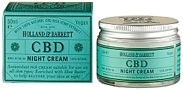 Voňavky, Parfémy, kozmetika Olej na tvár - Holland & Barrett CBD Night Cream