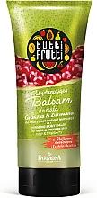 """Voňavky, Parfémy, kozmetika Balzam na telo """"Hruška a brusnica"""" - Farmona Tutti Frutti Smoothing Body Balm Pear & Cranberry"""
